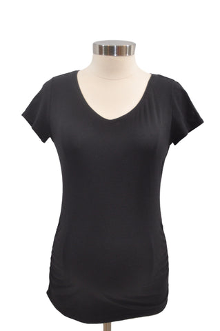 Black Short Sleeve T-Shirt by Bumpstart