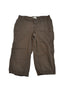 Brown Cargo Capri Pants by Liz Lange