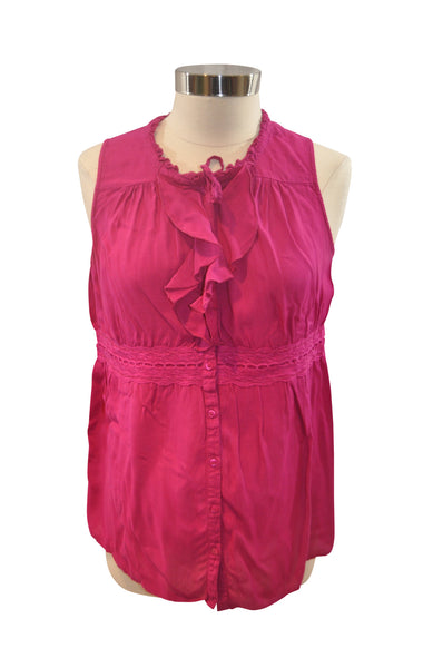 Pink Sleeveless Blouse by Motherhood