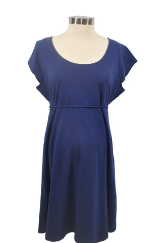 Blue Short Sleeve Dress by Motherhood *New With Tags*