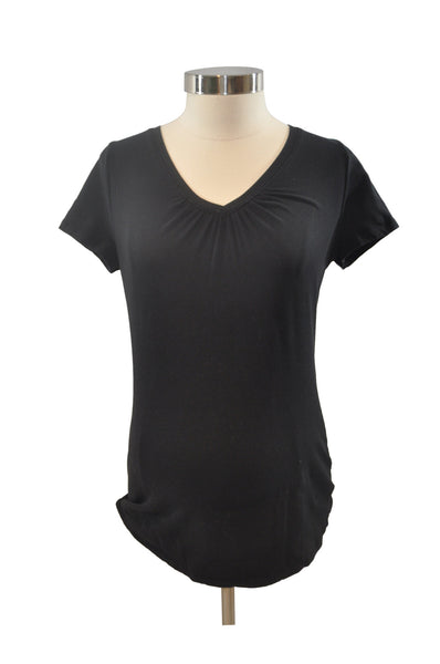 Black Short Sleeve T-Shirt by Motherhood
