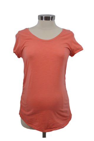 Orange Short Sleeve T-Shirt by Liz Lange