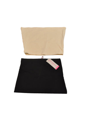 Black & Nude Belly Band Set by OH!Mamma *New With Tags*