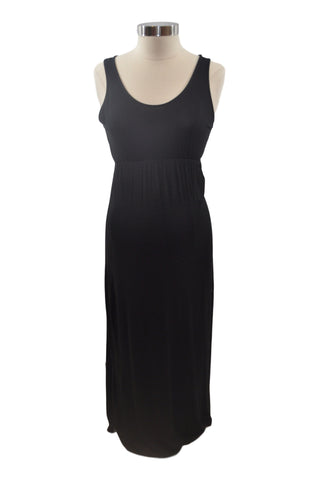 Black Sleeveless Maxi Dress by GAP