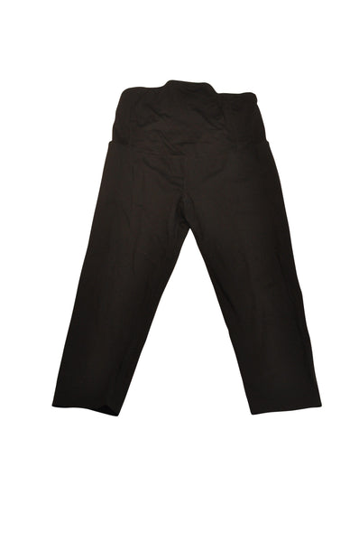 Black Active Capri Pants by BeMaternity