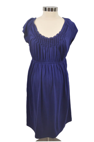 Blue Short Sleeve Dress by OH BABY!
