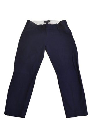 Blue Woven Capri Pants by J.CREW