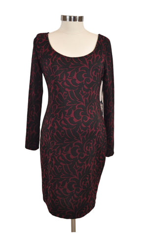 Red & Black Knit Dress by Jessica Simpson *New With Tags*