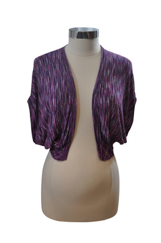 Purple Short Sleeve Shell by Liz Lange