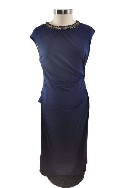 Navy Blue Formal Dress by A Pea In The Pod