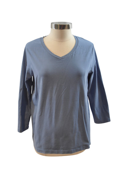 Blue Long Sleeve T-Shirt by Motherhood
