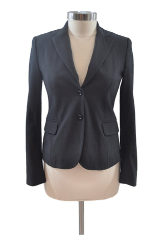 Gray Career Suit Blazer by Mimi Maternity