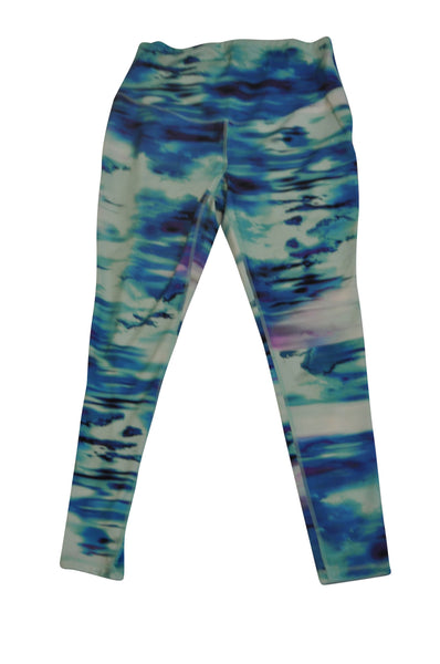 Blue & Green Active Pants by Old Navy