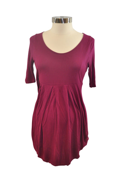 Purple Short Sleeve Top by Old Navy