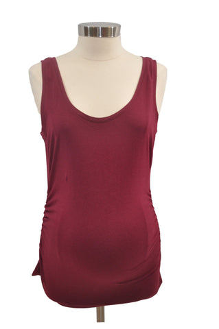 Maroon Scoop Neck Tank Top by Motherhood *New With Tags*