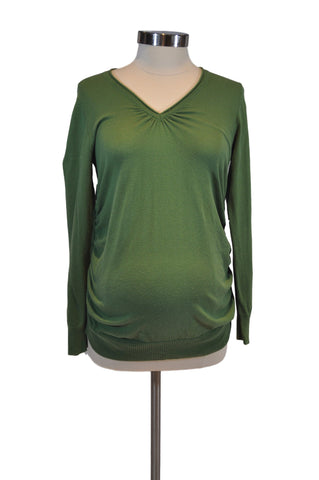 Green Long Sleeve Sweater by Motherhood