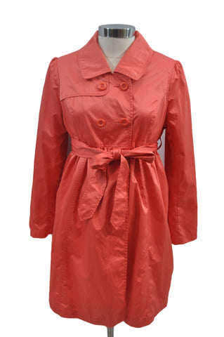 Coral Trenchcoat Jacket by Liz Lange