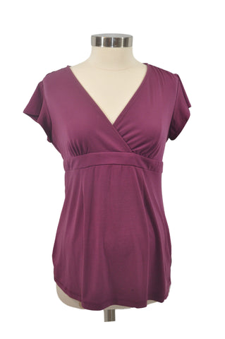 Purple Short Sleeve Top by OH BABY!*