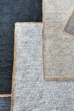 Load image into Gallery viewer, jacmel hemp rug in blue color