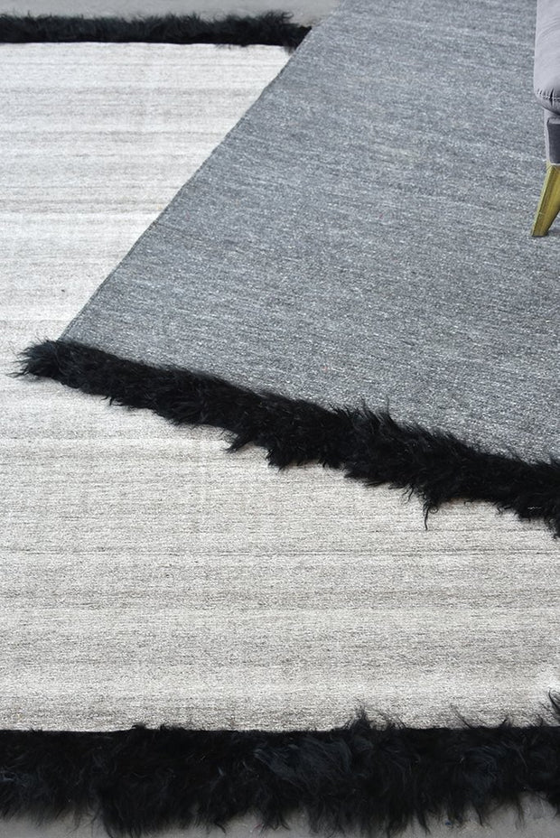 dalston wool rug in beige color