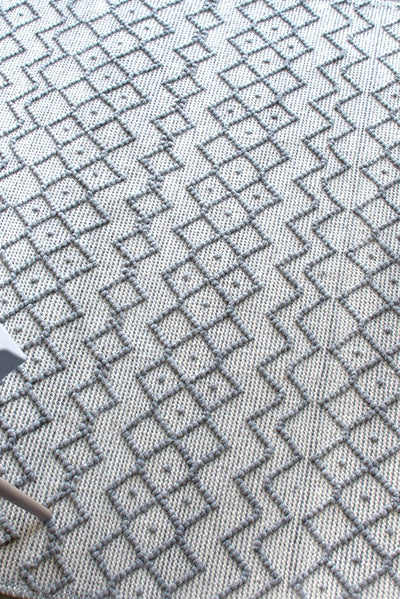dollis PET rug in grey color