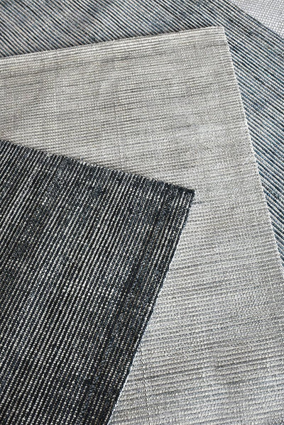 lizban viscose rug in charcoal color