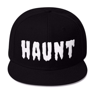 HAUNT Snapback Hat-Snapback Hats-Lovers Are Lunatics