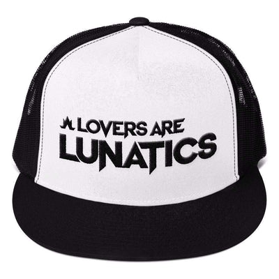 LAL - Structured Mesh Back Snapback-Mesh Snapback Hats-Lovers Are Lunatics