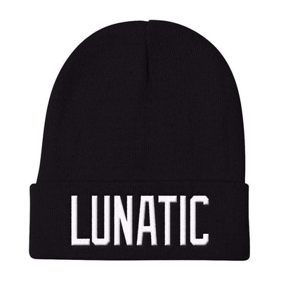Lunatic Knit Beanie-Knit Beanies-Lovers Are Lunatics