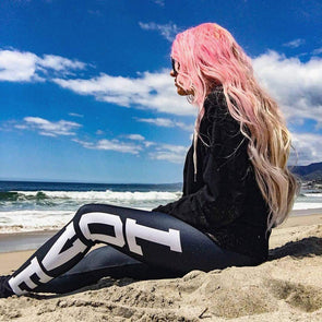 MadLove Full Length Leggings-Full Length Leggings-Lovers Are Lunatics