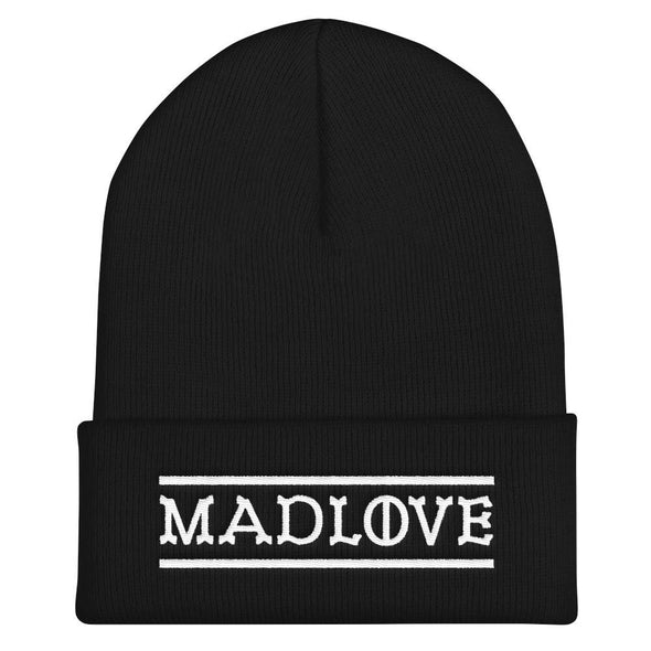MADLOVE Knit Beanie-Knit Beanies-Lovers Are Lunatics