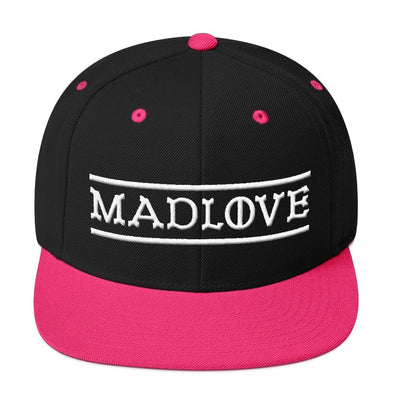 MADLOVE Snapback Hat-Snapback Hats-Lovers Are Lunatics