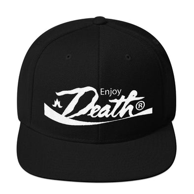 Enjoy Death Snapback Hat