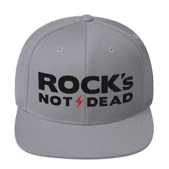 Rock's Not Dead - Snapback Hat - Festival Edition-Snapback Hats-Lovers Are Lunatics