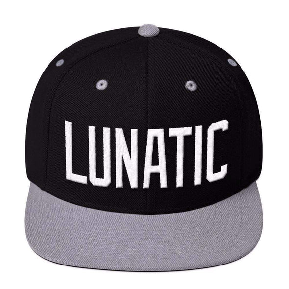 Str8 Up Lunatic Snapback Hat - 6 color options-Snapback Hats-Lovers Are Lunatics