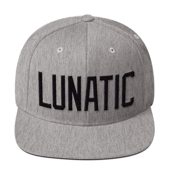 Str8 Up Lunatic Snapback Hat - Color Options-Snapback Hats-Lovers Are Lunatics