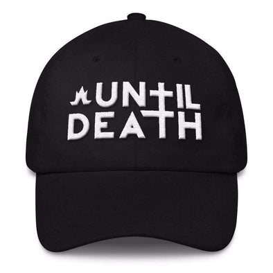 Until Death Classic Dad Cap-Classic Dad Caps-Lovers Are Lunatics