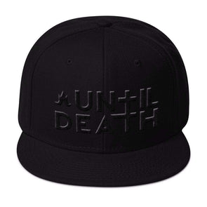 Until Death Murder Edition - Snapback Hat-Snapback Hats-Lovers Are Lunatics