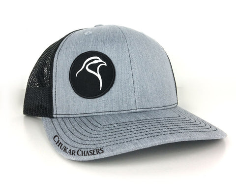 Grey/Black Mesh Snapback - Patch II