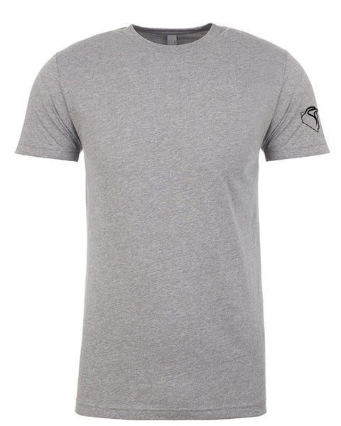 Men's Tee Light Heather Grey