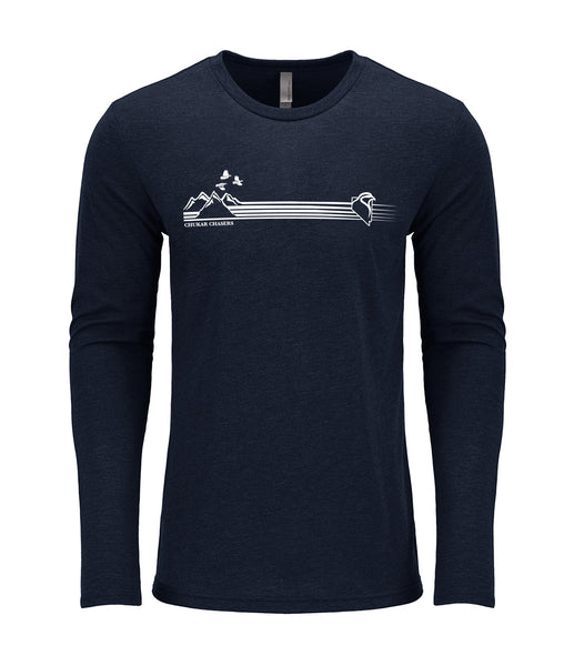 Chukar Chasers Ridge Triblend Long-Sleeve