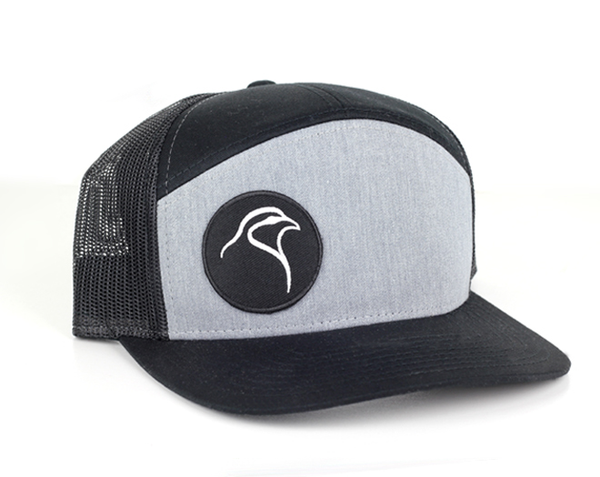 Chukar Chasers 7 Panel Mesh Snapback - Patch