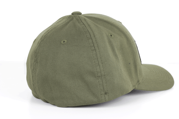 Chukar Chasers Patch - Curved Flexfit- OD Green