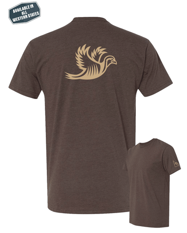 TRK- T-Shirt- Brown