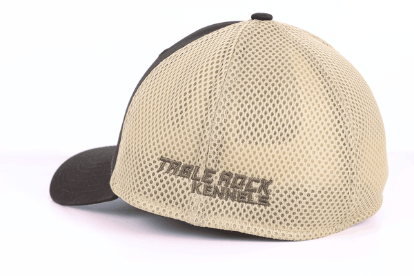 TRK- Stretch Mesh Hat - Brown/Khaki