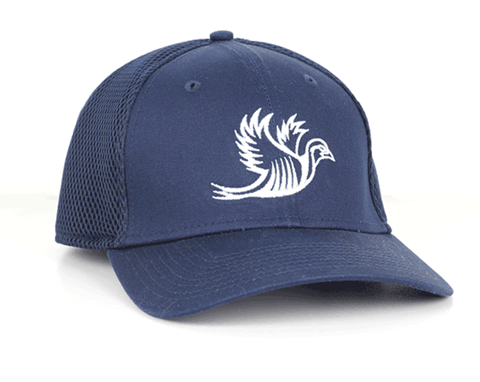 TRK- Stretch Mesh Hat - Navy