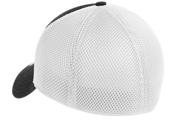 Stretch Mesh Hat - White Vinyl