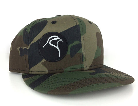 Camo Flat Bill Snapback - Patch