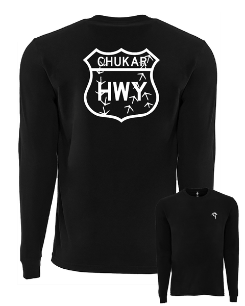 Chukar Chasers HWY - Sueded Long-Sleeve