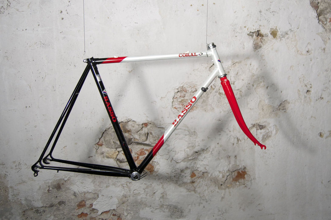 Basso Coral black-pearlwhite-red